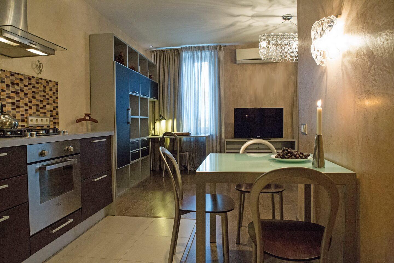 Однокомнатная квартира на улице Трофимова