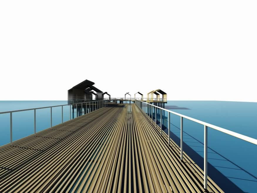 «ЭКОЛОГИЯ ПРОСТРАНСТВА» - Террасный пляж, в районе Яхт-клуба Сочи