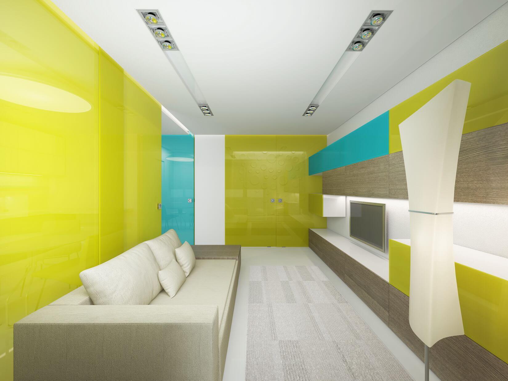 Концепт для малогабаритной квартиры